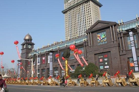有限公司投资的江苏南通首家国际化购物中心╠╠南通中南城购物中心(